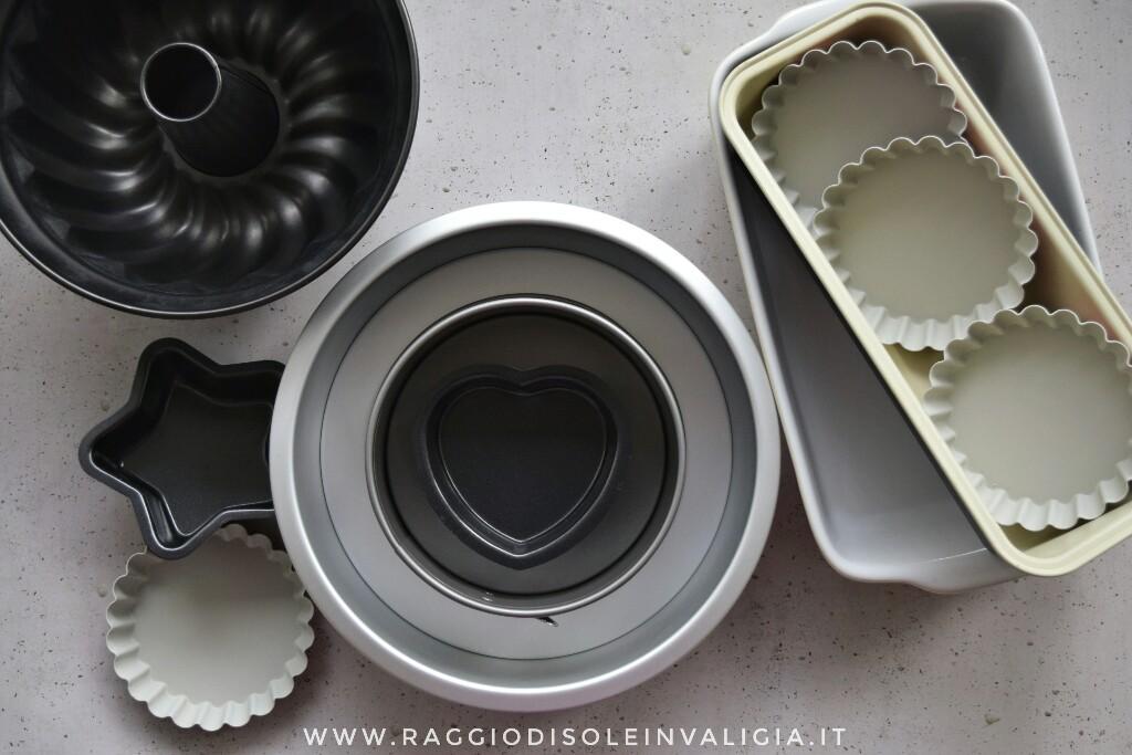 Come convertire i pesi delle ricette per ogni teglia che hai a disposizione