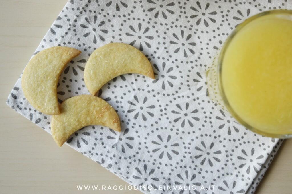 biscotti friabili invernali mezzelune agli agrumi