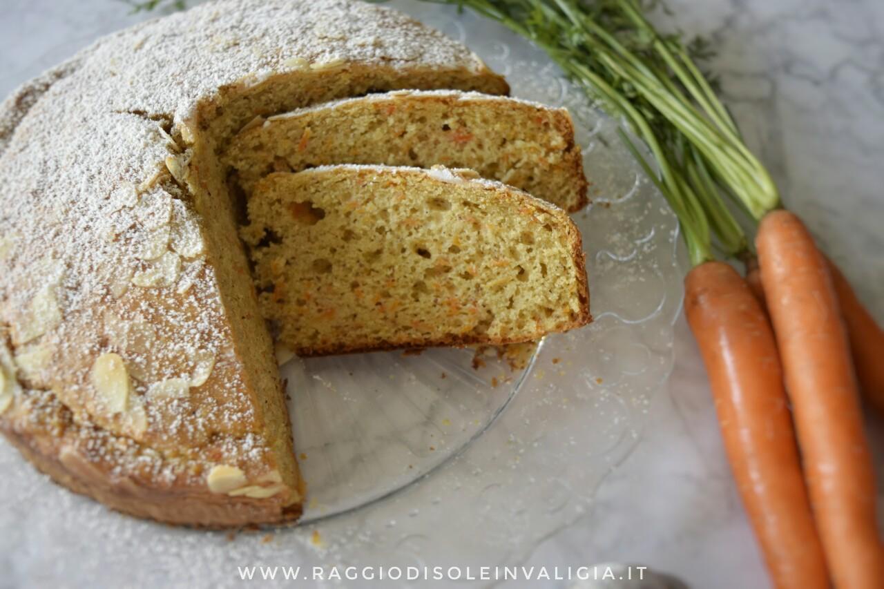 la mia torta camilla con carote e mandorle senza burro, ricetta facile