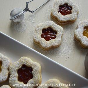 biscotti occhio di bue alla marmellata fatti in casa
