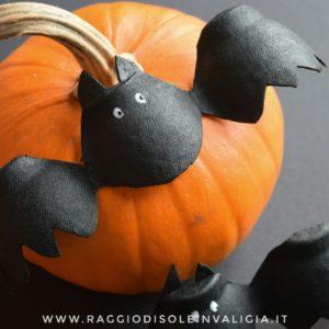 Pipistrelli di riciclo per halloween