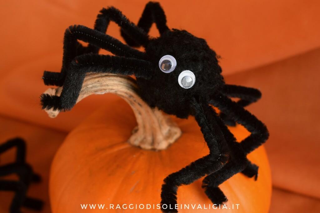 ragni fai da te per halloween economici
