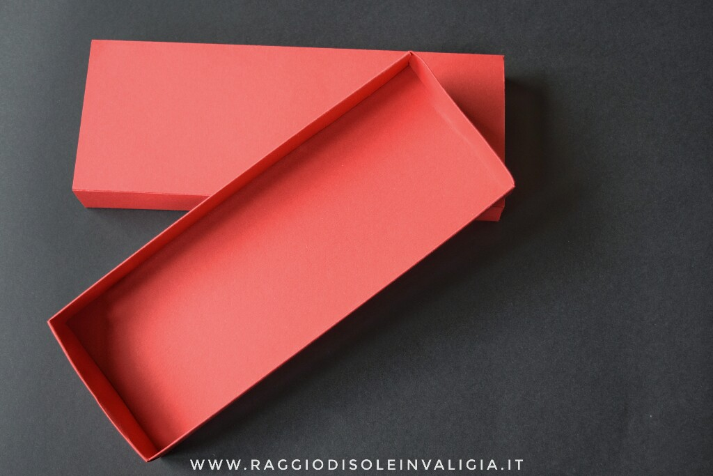 packaging fai da te: scatola a fiammifero tutorial
