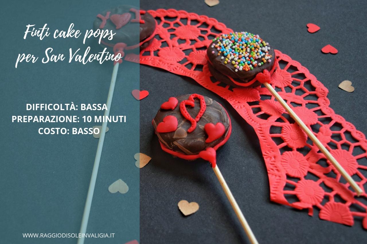 Finti cake pops: idea regalo per la festa degli innamorati