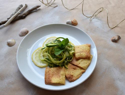 5+1 ricette per un antipasto estivo, con crostini di farina ceci gluten free
