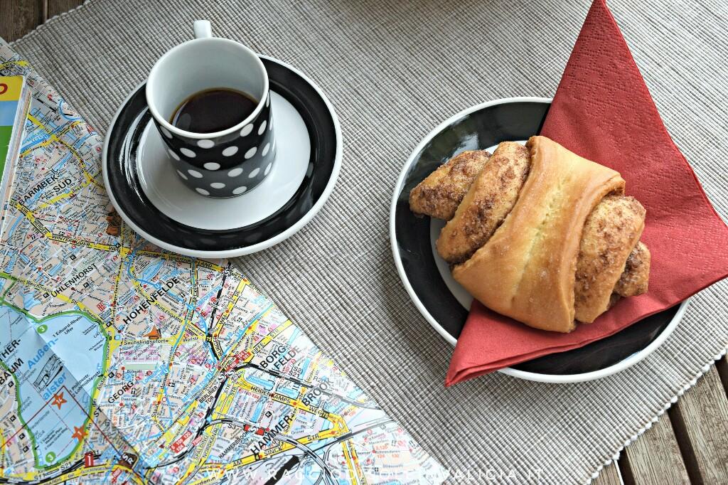 Franzbrötchen ricetta in italiano, brioche alla cannella