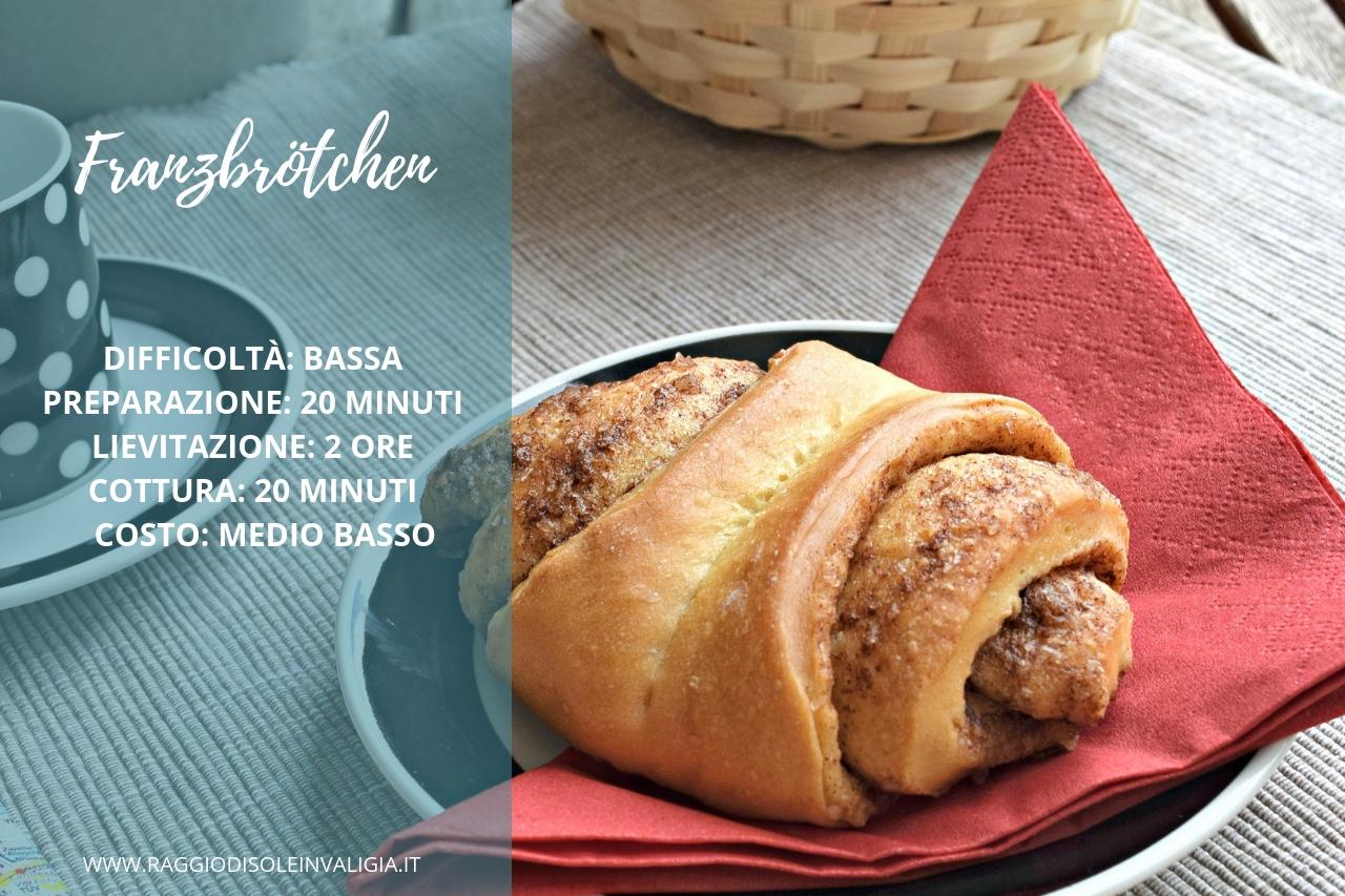 Franzbrötchen ricetta in italiano