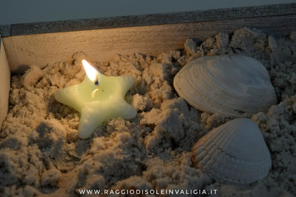 candele stelle marine fai da te estive