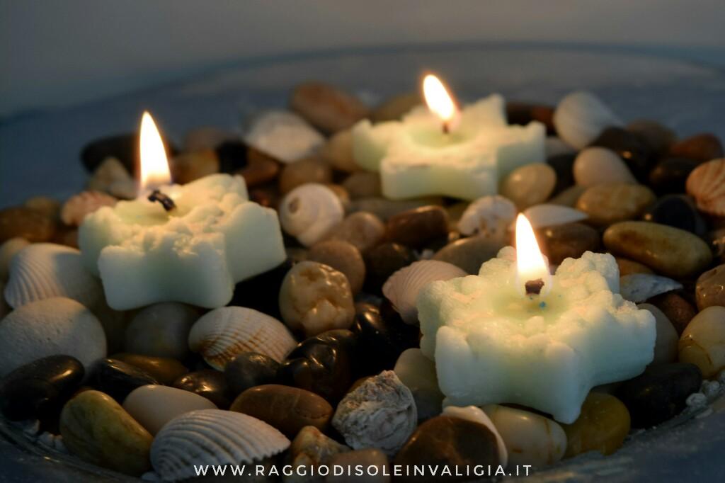 candele stelle marine fai da te idea regalo