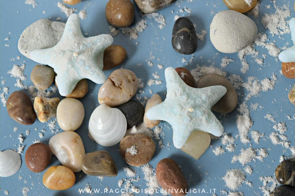 candele stelle marine fai da te per l'estate