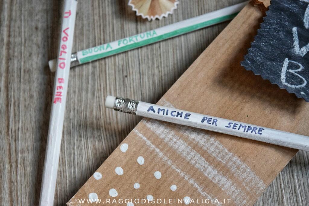 Back to School: matite personalizzate per le amiche