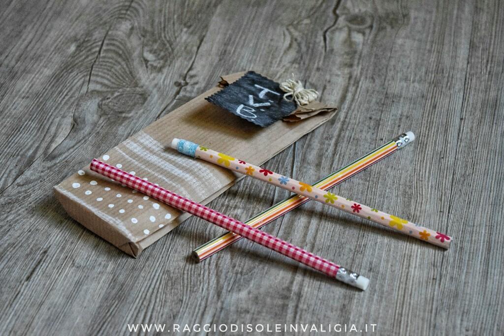 Back to School: matite personalizzatecon il waschi tape