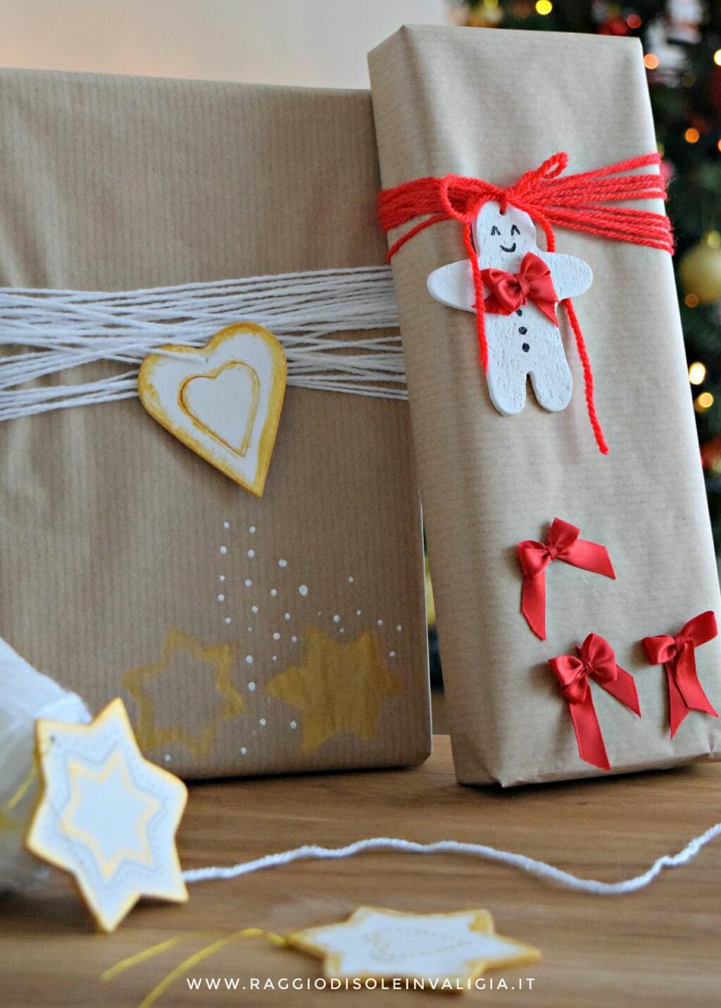 packaging natalizio fai da te