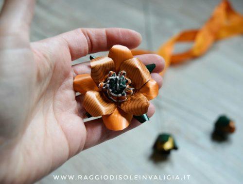 la mia prima intervista e fiori di riciclo autunno dalle capsule nespresso