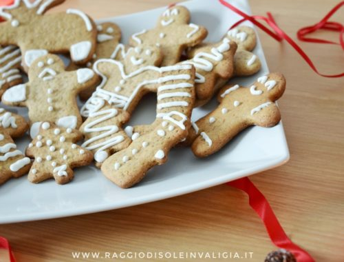 Biscotti pan di zenzero (Gingerbread) per Natale