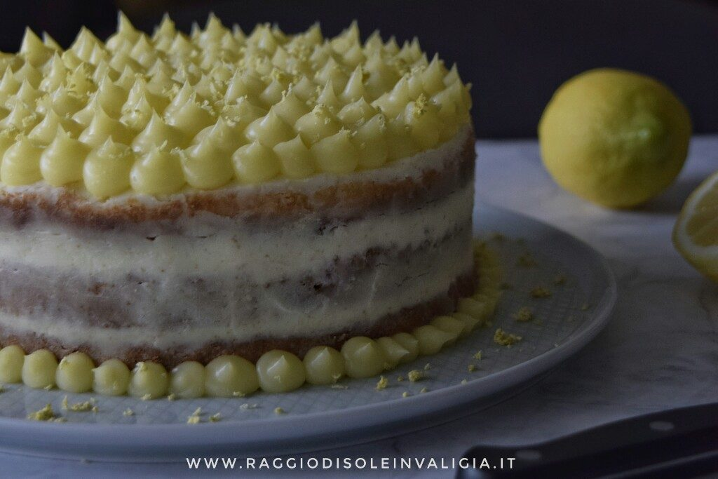 Naked cake al lemon curd, la mia torta di compleanno
