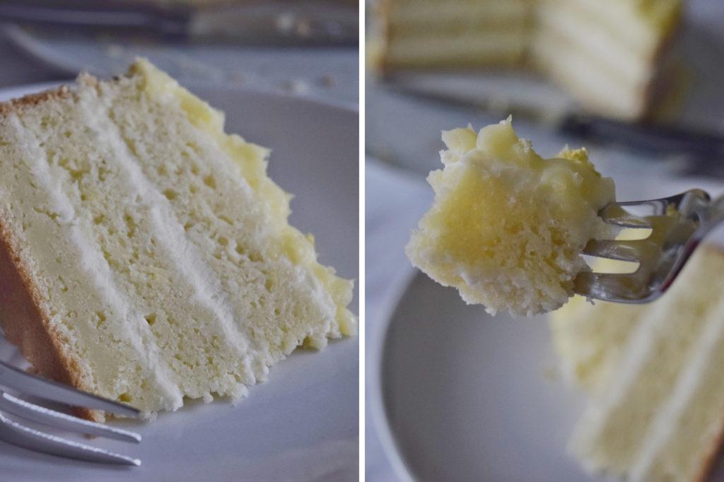Naked cake al limone, fresca e profumata