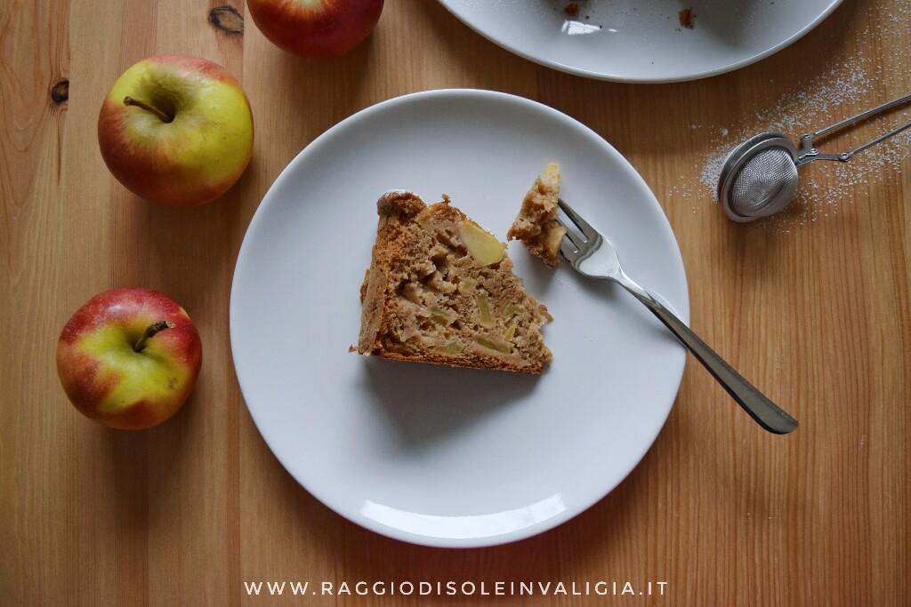 ricetta semplice per una torta di mele alta