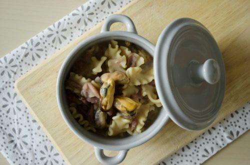 pasta e fagioli con le cozze, ricetta semplice ed economica