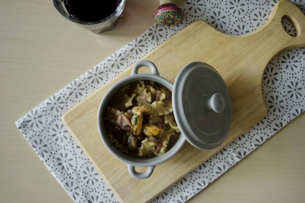 Ricetta tradizione campana:pasta e fagioli con le cozze
