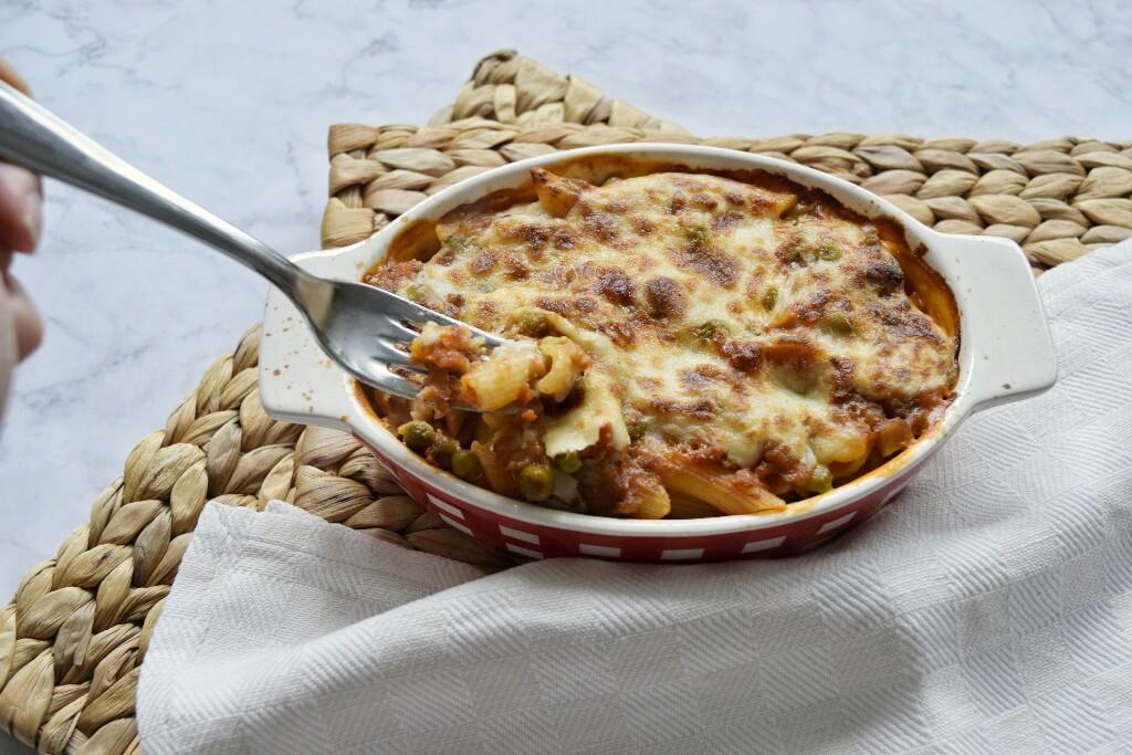 Ricetta facile, pasta al forno