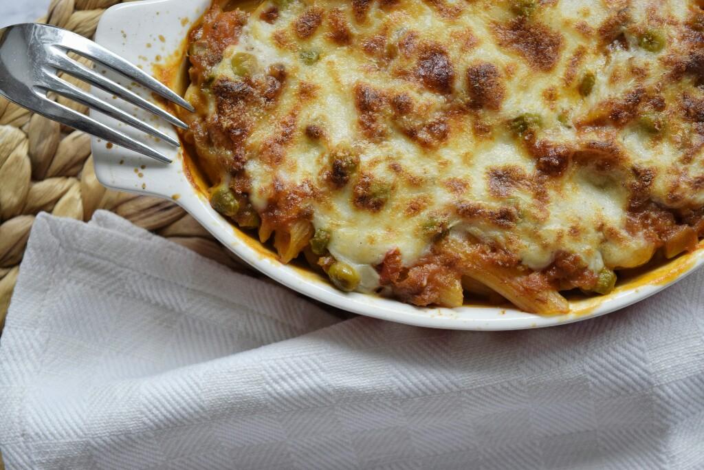 Ricetta semplice, pasta al forno vegetariana