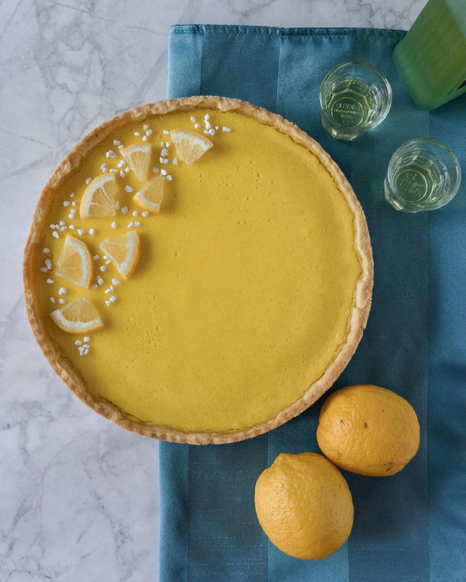 Ricetta veloce: crostata al limone