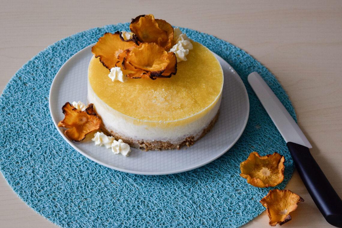 Cheesecake gelato esotica