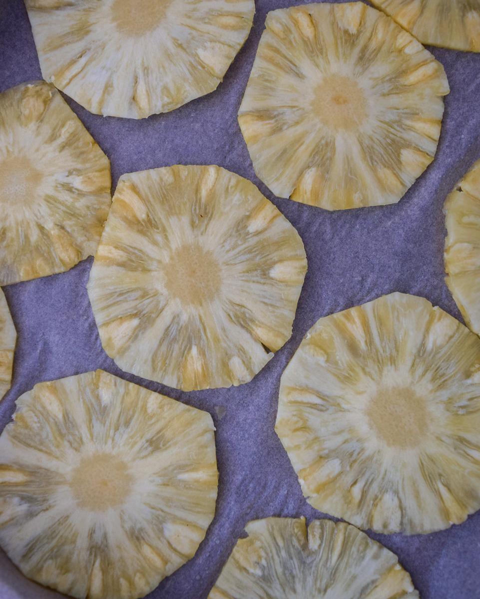 Fiori di ananas essiccati passo passo