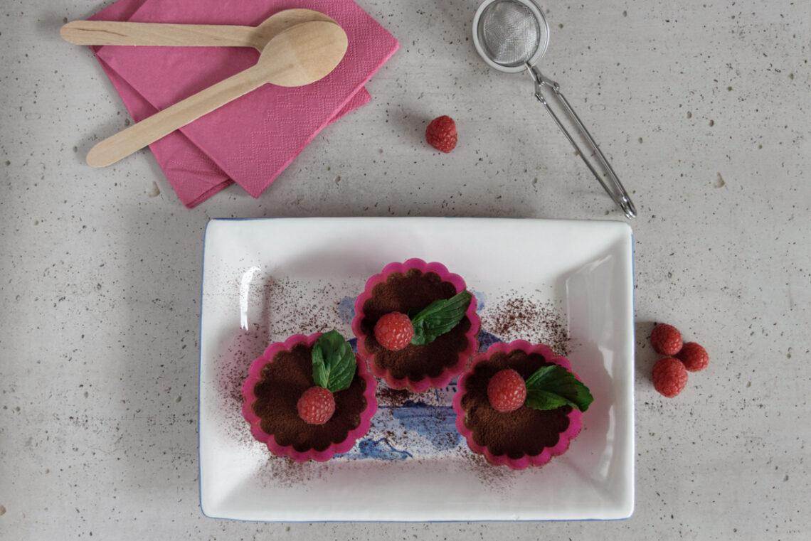 Ricetta facile: mini cheesecake vegan al cioccolato