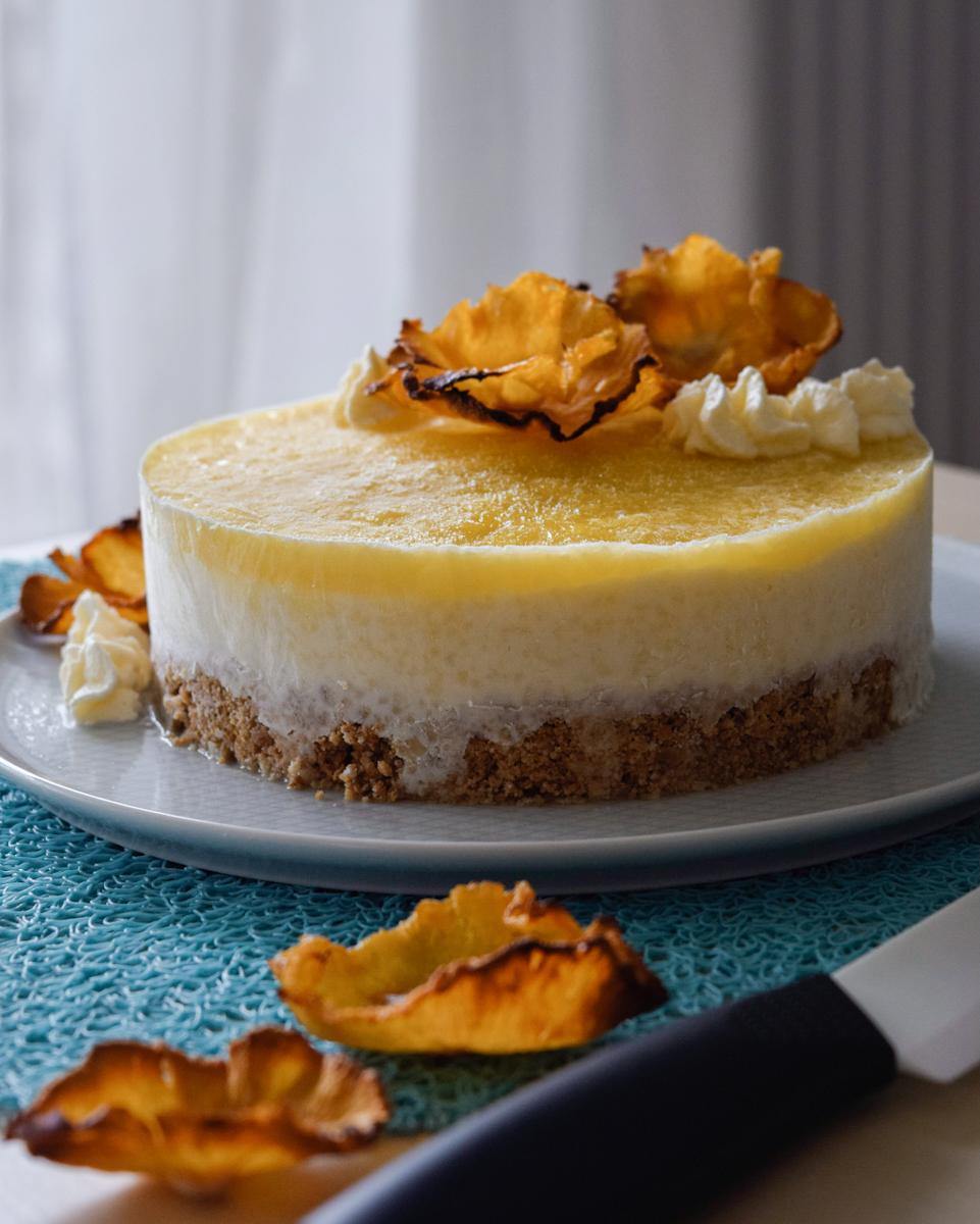 Ricetta semplice per cheesecake gelato esotica