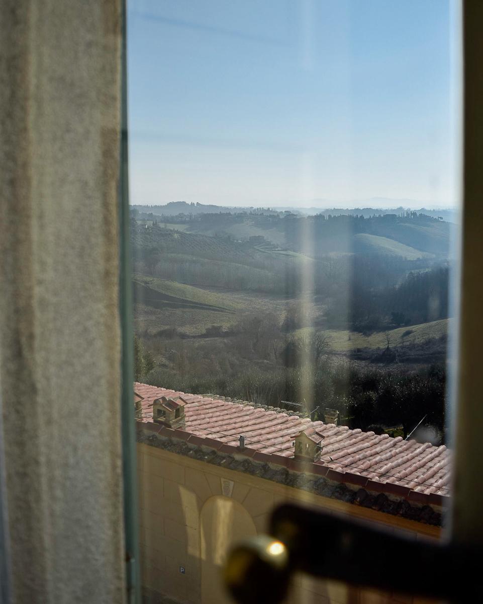 Siena, vista dall'hotel Palazzo di Valli