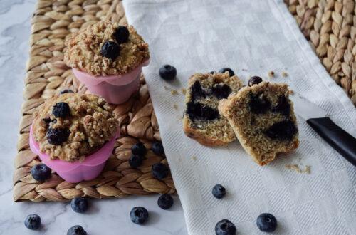 Muffin ai mirtilli facili e veloci