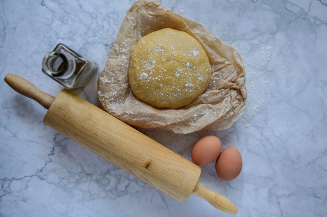 Pasta frolla all'olio d'oliva