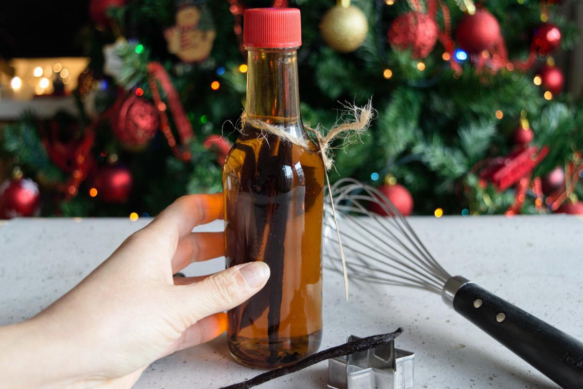 Estratto di Vaniglia fatto in casa, idea regalo per il Natale