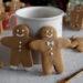 Gingerbread man o omini pan di zenzero
