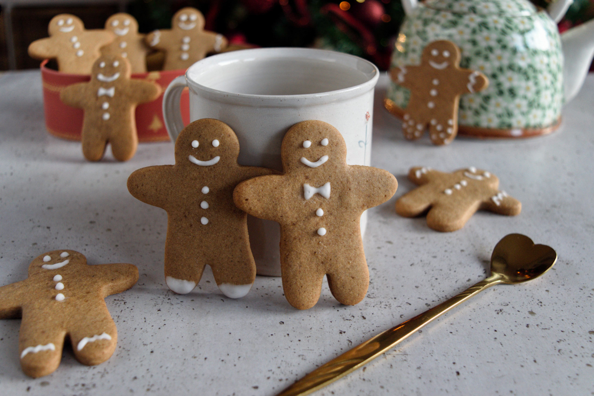 Gingerbread man o omini pan di zenzero ricetta originale