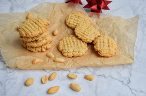 Biscotti al burro di arachidi con soli 3 ingredienti