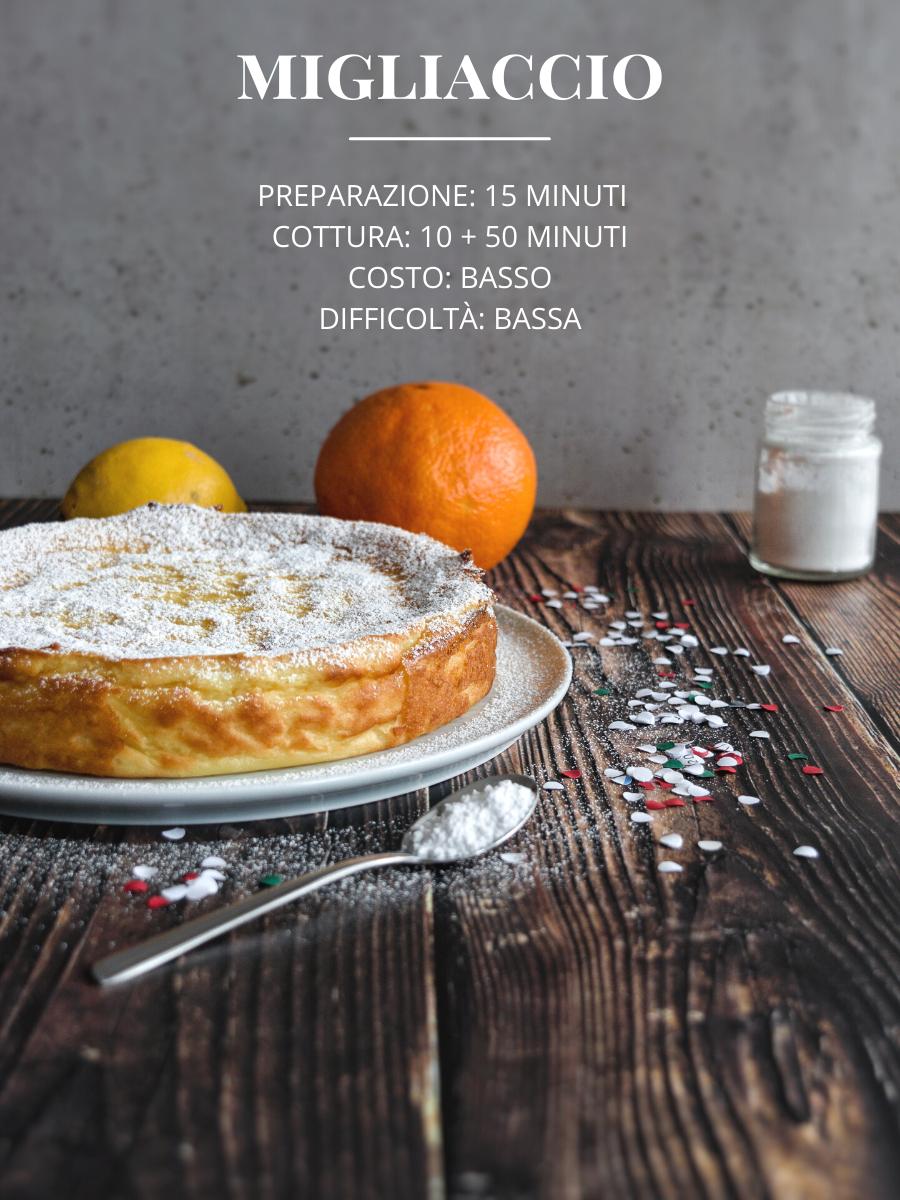 Migliaccio napoletano per carnevale, ricetta tradizionale con ingredienti e procedimento