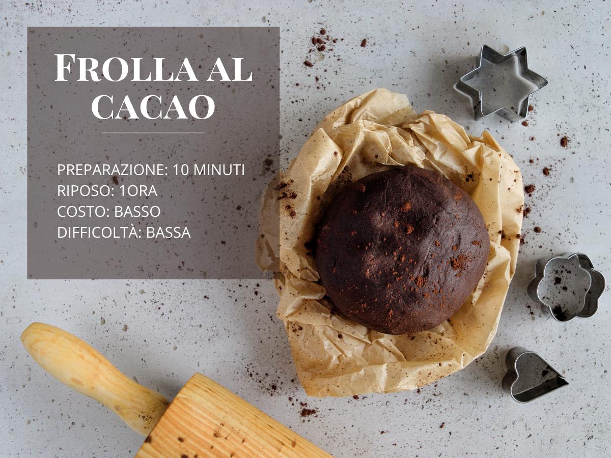 ricetta perfetta della pasta frolla al cacao