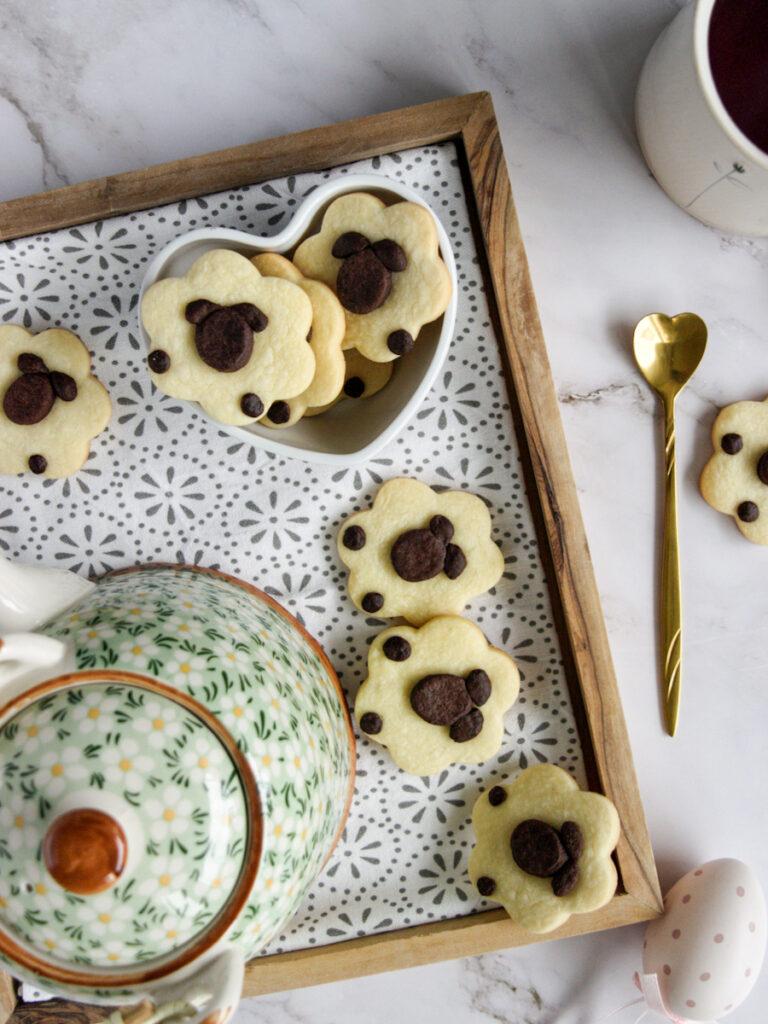 Ricetta pecorelle biscotti di pasta frolla