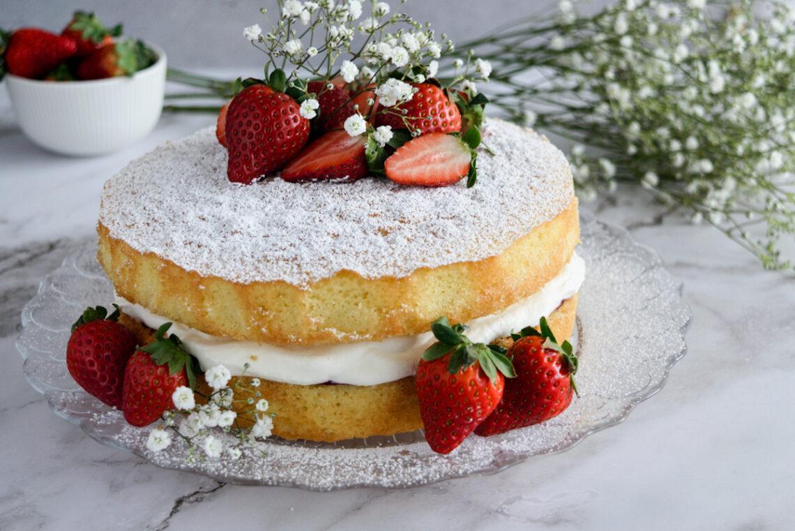 Victoria Sponge Cake ricetta originale