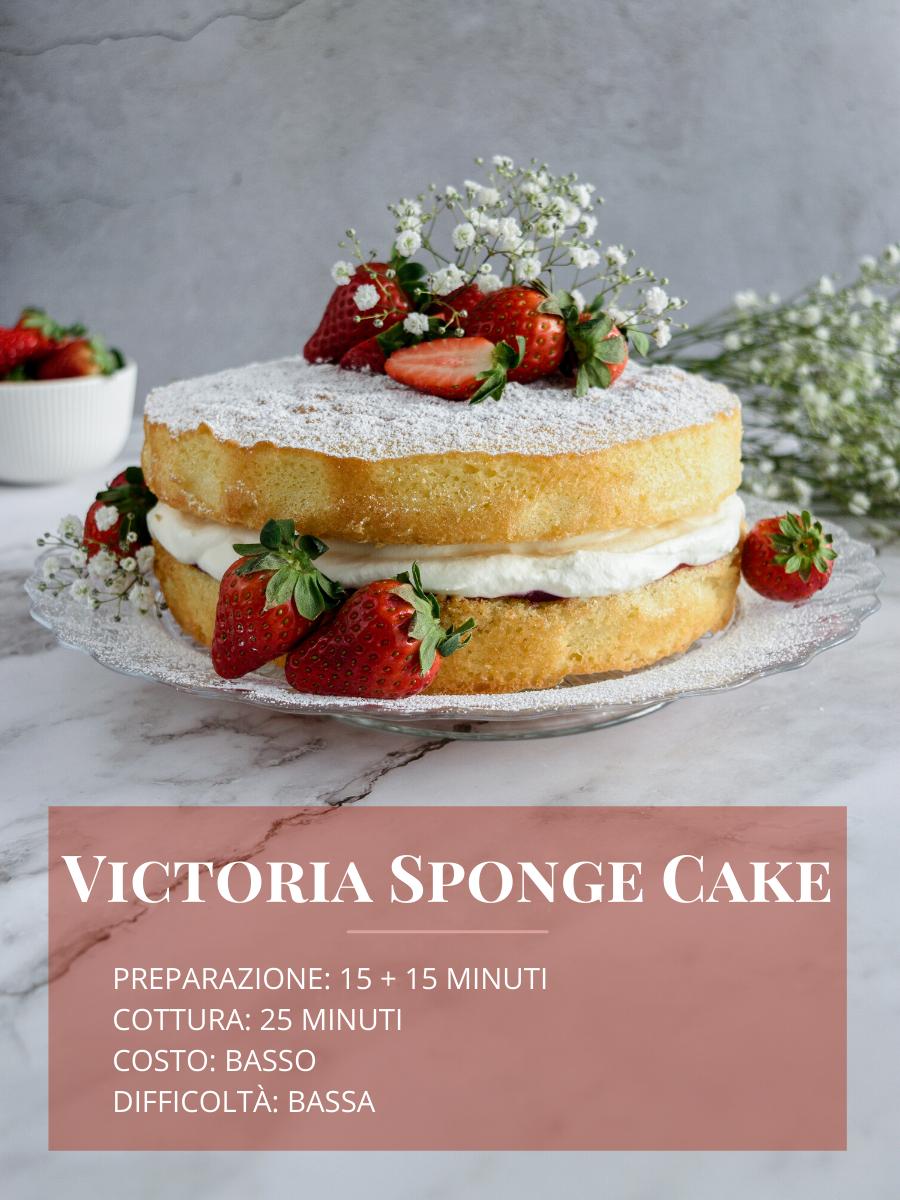 Ricetta della Victoria Sponge Cake