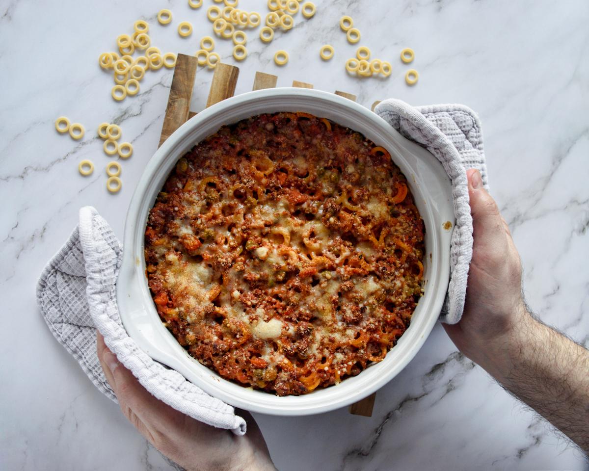 Anellini siciliani al forno, ricetta tradizionale